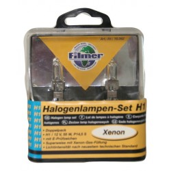 Xenon look halogeen koplamp - Fitting H1